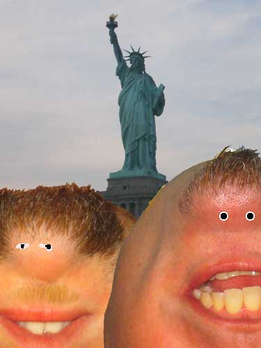 Biff and Jeff in New York